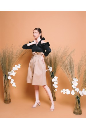 Furiru Ruffle Shirt + Hana Skirt