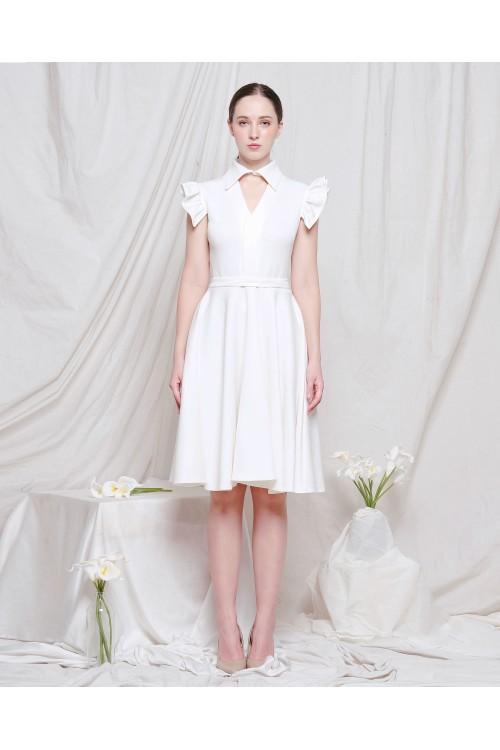 Hazel Collar Dress